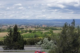 This is a view of Carcassonne from an Aire on the motorway. We did not stay there but we may do so in the future. Looks like an interesting place; the towm, I mean, not the Aire!