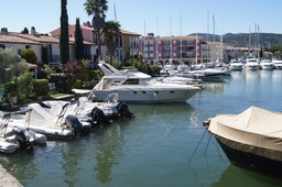 Port Grimaud-Sud.   We were staying at the Holiday Marina, Port Grimaud